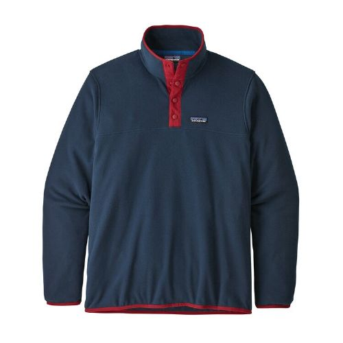 Patagonia Men's Micro D Snap-T Fleece Pullover New Navy